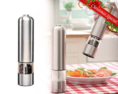 Electronic Stainless Steel Peppermill Grinder