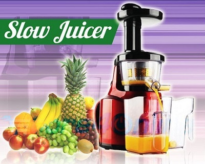 Slow Juicer Deals : Dual Head Slow Juicer Extractor StreetDeal.my