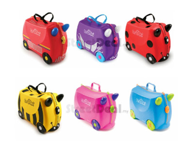 Convertible Children's Luggage Trunk Bag | Malaysia Daily Sales